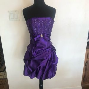 Purple Jessica McClintock NWT formal dress sz 3